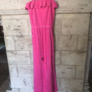 Juicy Couture Terry cloth maxi dress size small